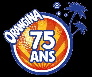Logo Orangina 75 ans
